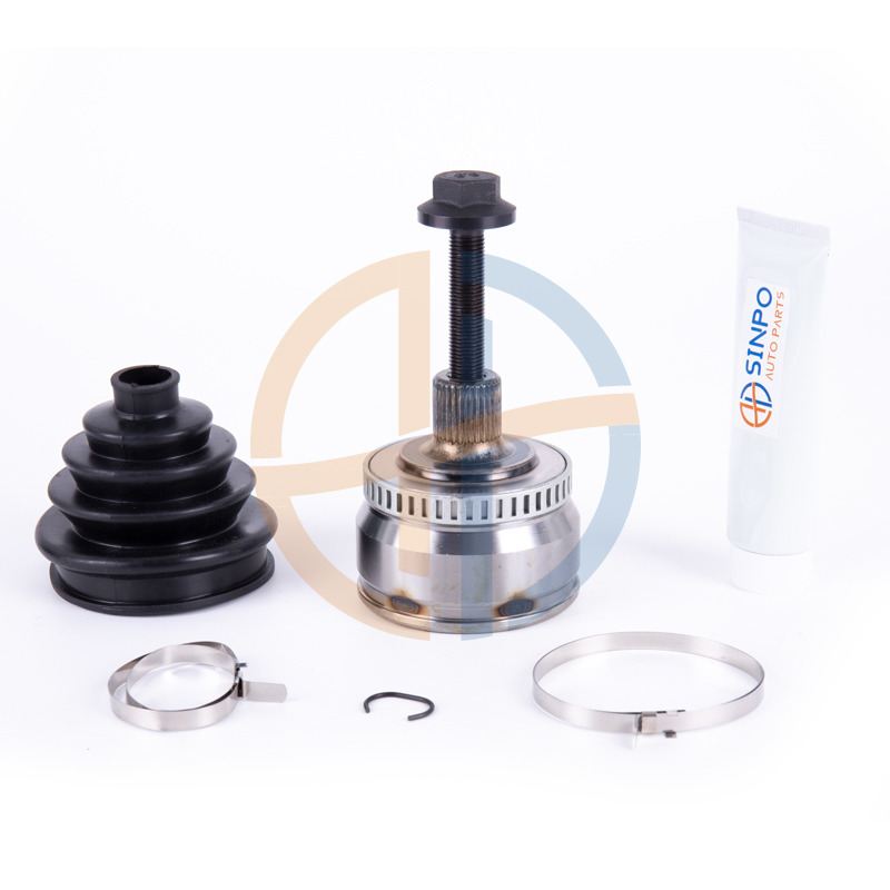 SINPO Wheel Side CV Joint Boot Kit 8D0498099 New OE Replacement for AUDI VW ARM AVV