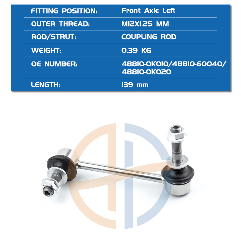 Toyota 48810-60040 Stabilizer Link Assembly