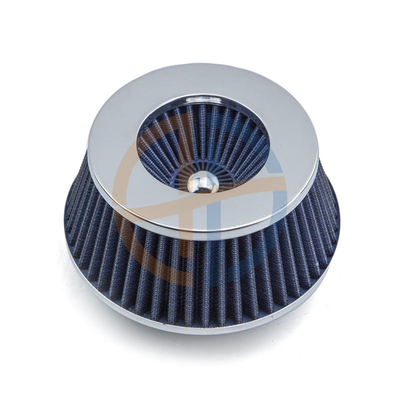 Chrome plate Blue Air Filter Sinpo Brand Air Intake High Performance