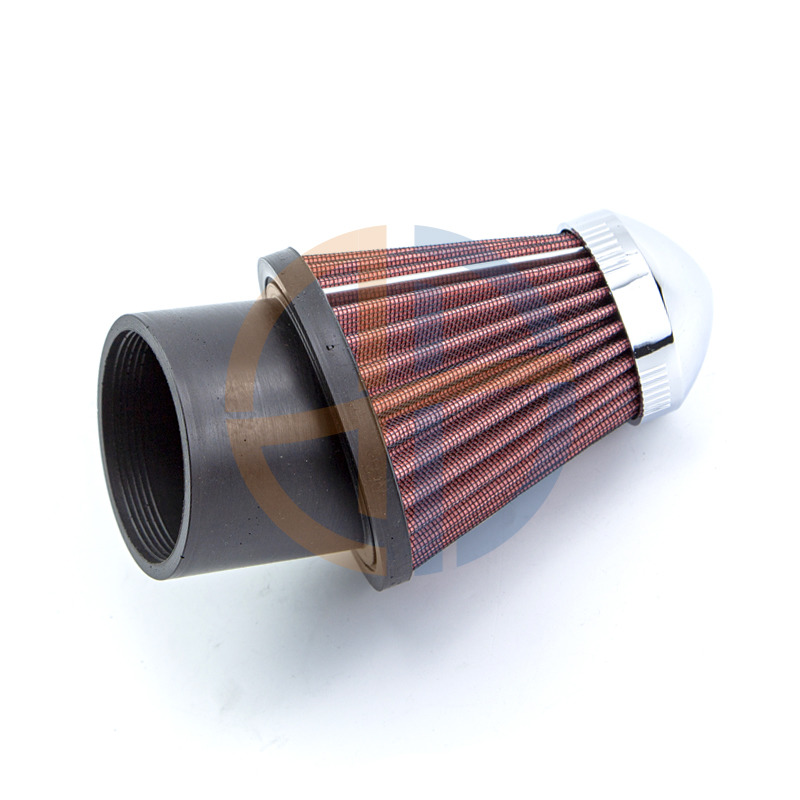 High Performance Air Intake filter with clamp