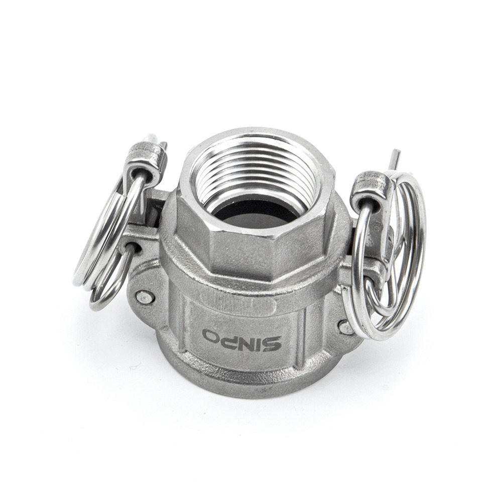 Stainless Steel Camlock Coupling Type D with Heavy Weight