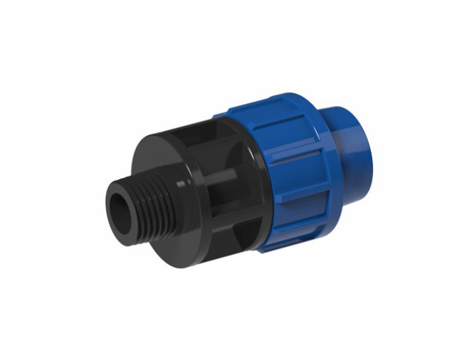 PP Adaptor with Male Thread Offtake