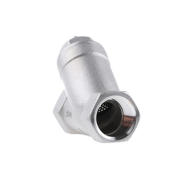 BSP NPT Female Thread 300 Mesh Filter Stainless Steel 304 Y Strainer 2 Inch