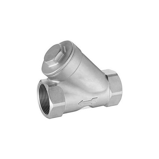 1 Inch Y Strainer Stainless Steel 316 BSP NPT Female Thread Mesh 300 500 800 Filter