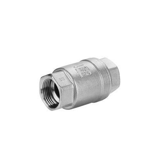 1 Inch Stainlee Steel 316 Hydraulic Check Valve Type Vertical One Way