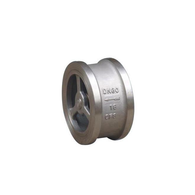 3 Inch Check Valve Wafer Type Stainless Steel 316 Non Return Female Thread