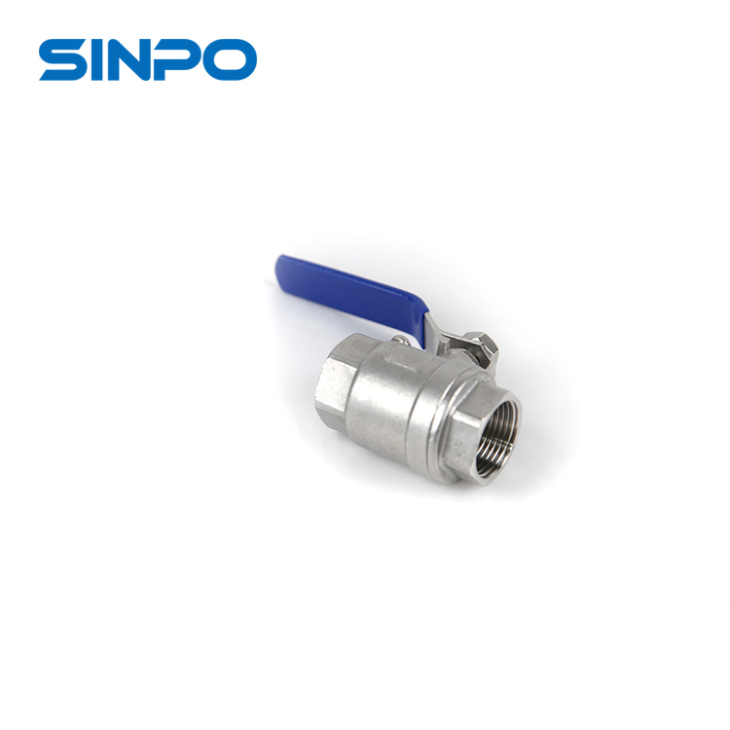 1'' Heavy Weight 2pc Ball Valve Handle Fully Welded Ball Valve