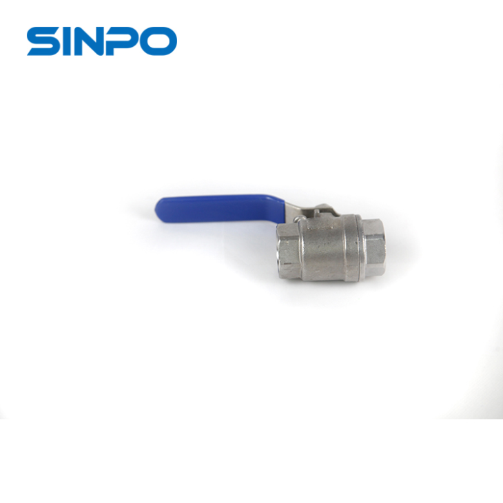 3/4'' Light Weight SSCF8M 2pc Ball Valve For Water Supply System