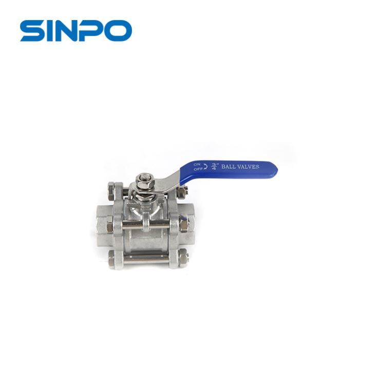 SS Double Eccentric Half Light Weight Ball Valve For Gas And Oil