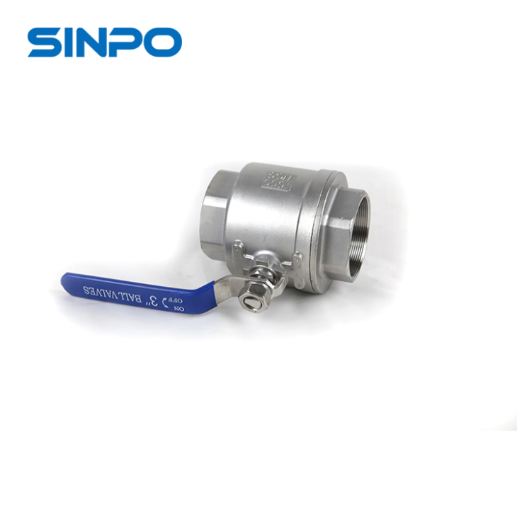 DIN 3 Inch SS Heavy Weight Ball Valve 2pc PN16 For Flow Control