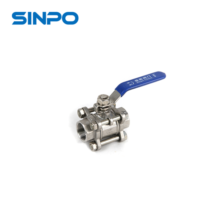 3/4 Inch Stainless Steel 316 Heavy Weight Female Threaded Ball Valve For Gas Industry