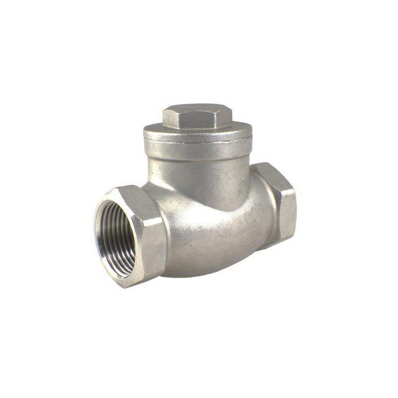 1-1/2 Inch Stainless Steel 316 Swing Type Silent Check Valve 1000 WOG 6000 PSI