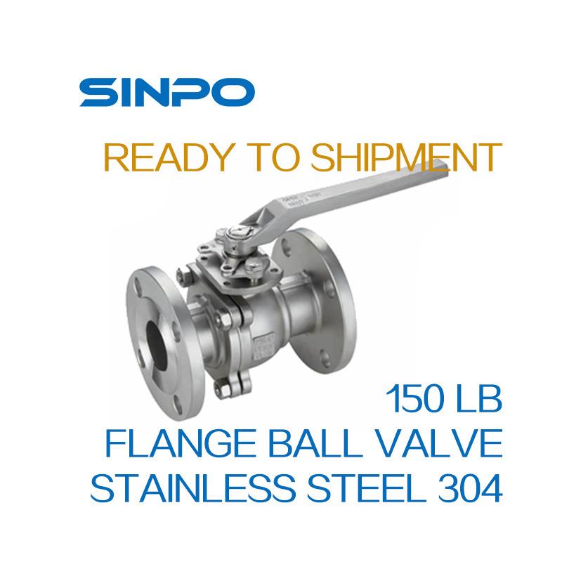 Class150 Stianless Steel Flange Ball Valve