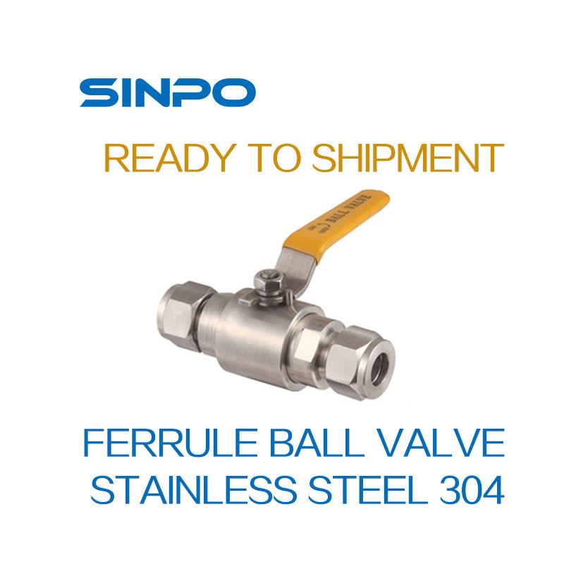 Stainless Steel Ferrule Ball Valve