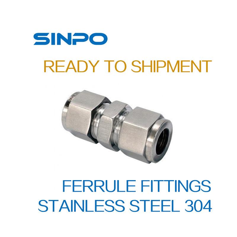 Stainless Steel Ferrule Fittings/Coupler
