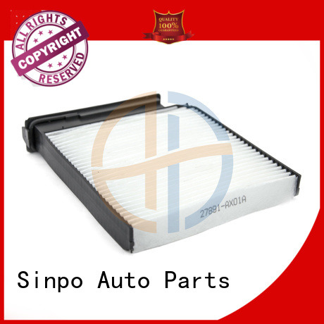 Sinpo cabin filter toyota use for auto