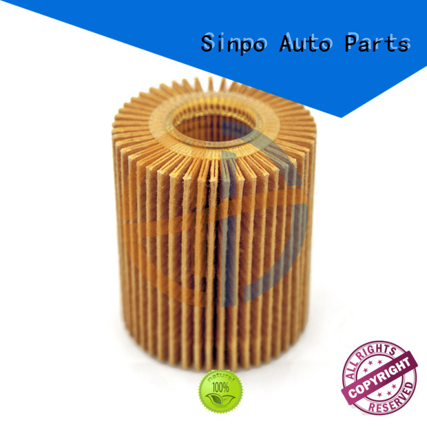 Sinpo toyota oil filter wholesale for vehicle
