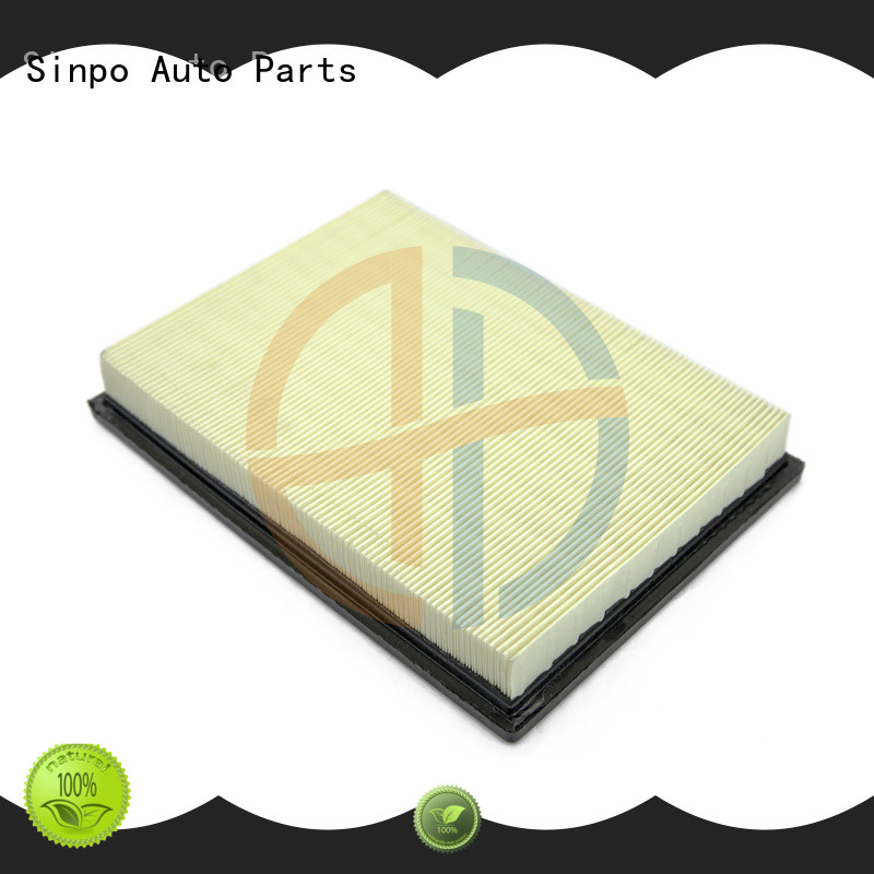 Sinpo car motorcycles air filter function for truck