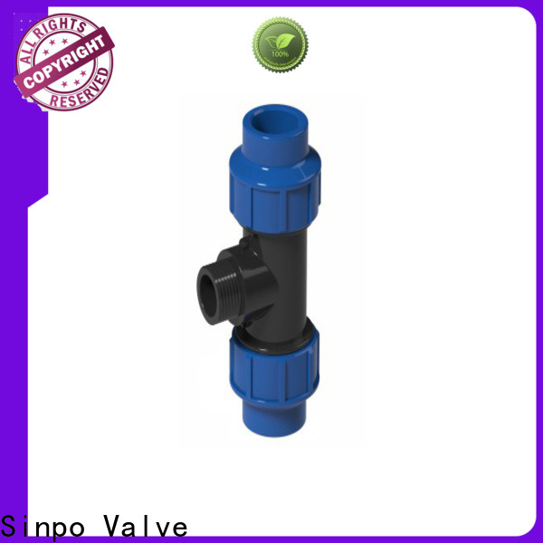Sinpo Valve pp pipe fittings manufacturers for factory