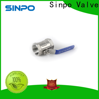 Sinpo Valve 1 stainless steel ball valve supply for home use