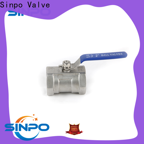 Sinpo Valve top 110mm ball valve for business for factory