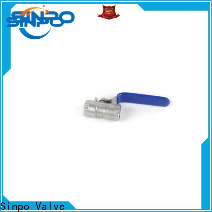 Sinpo Valve one piece ball valve company for home use