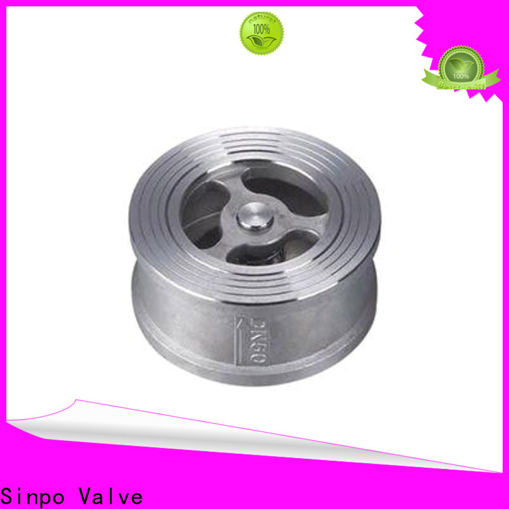 Sinpo Valve latest spring loaded check valve suppliers for industrial