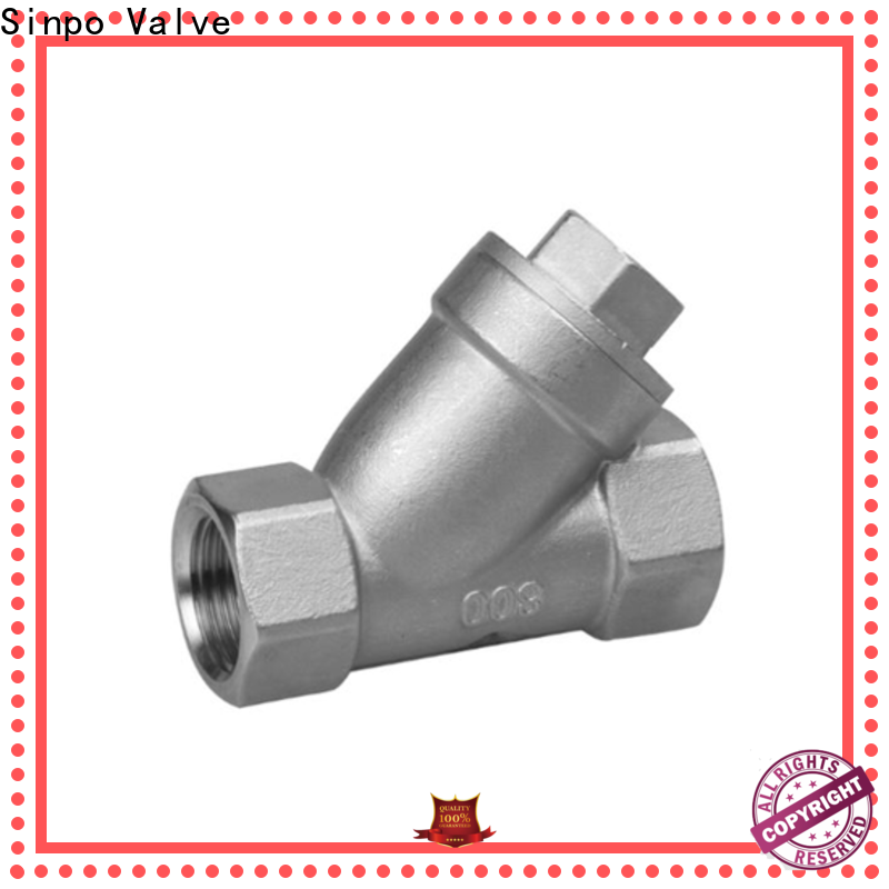 Sinpo Valve wholesale Y strainer price suppliers for industrial