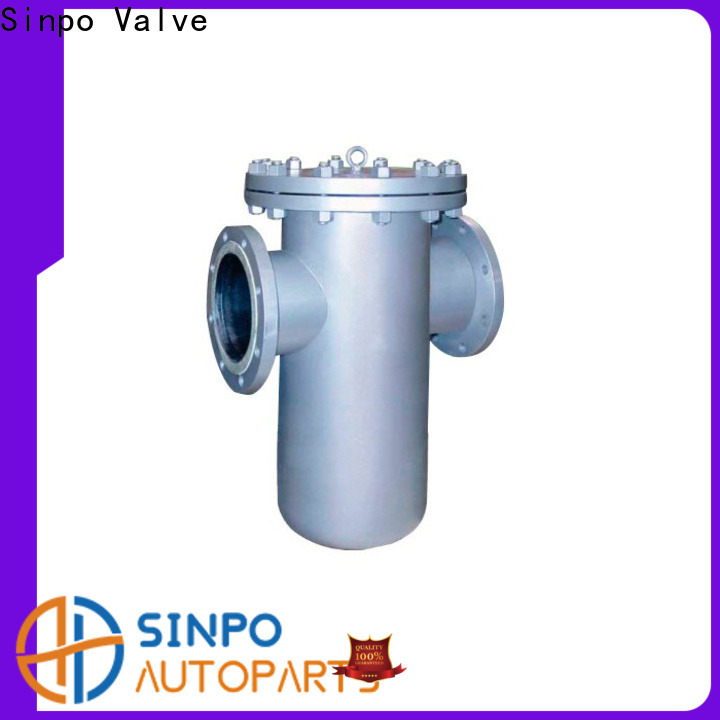 Sinpo Valve Y strainer with ball valve for business for factory