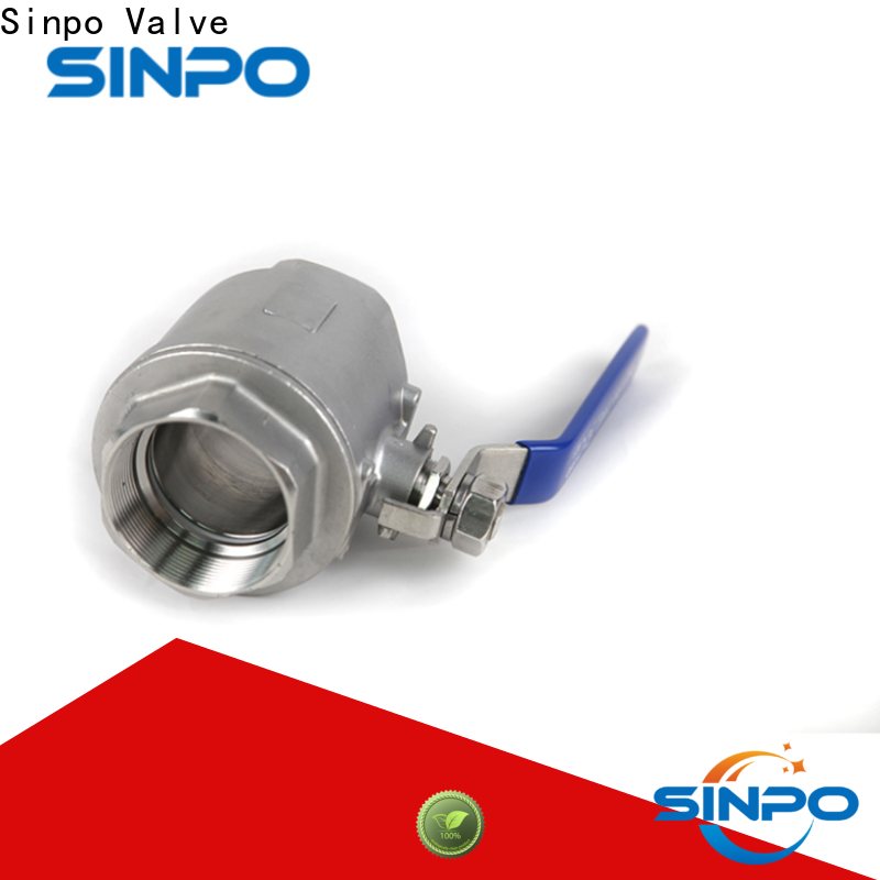 Sinpo Valve stainless ball valve company for factory