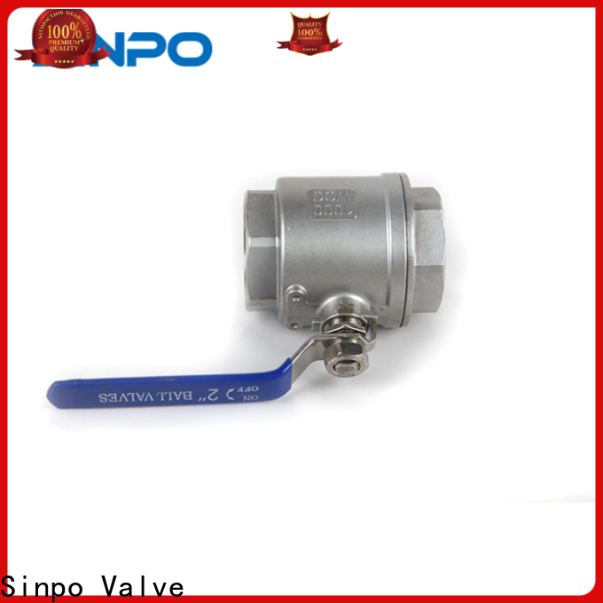 Sinpo Valve top 2 inch ball valve price suppliers for factory