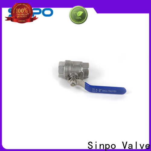 Sinpo Valve 2 inch ball valve price factory for home use