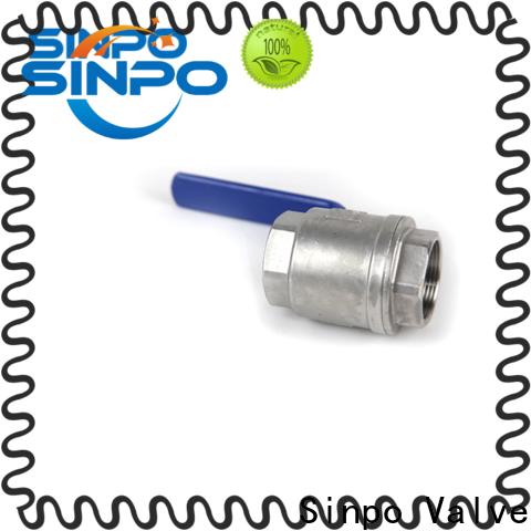 Sinpo Valve custom ball valve high pressure for business for factory