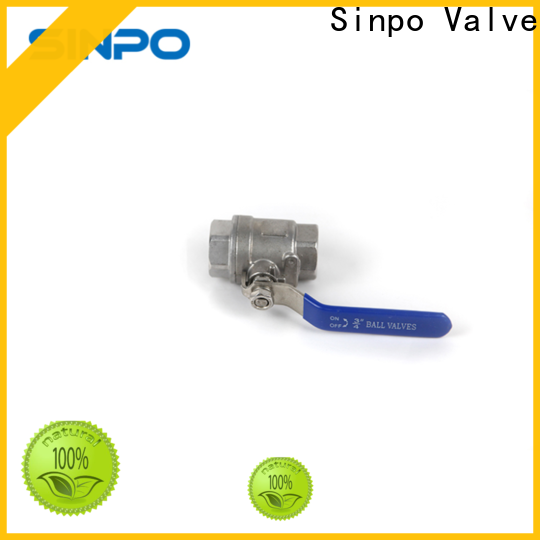 Sinpo Valve ball valve high pressure suppliers for industrial