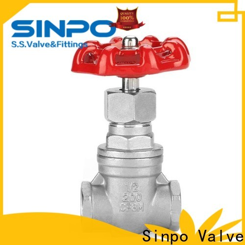 Sinpo Valve top gate valve types supply for industrial
