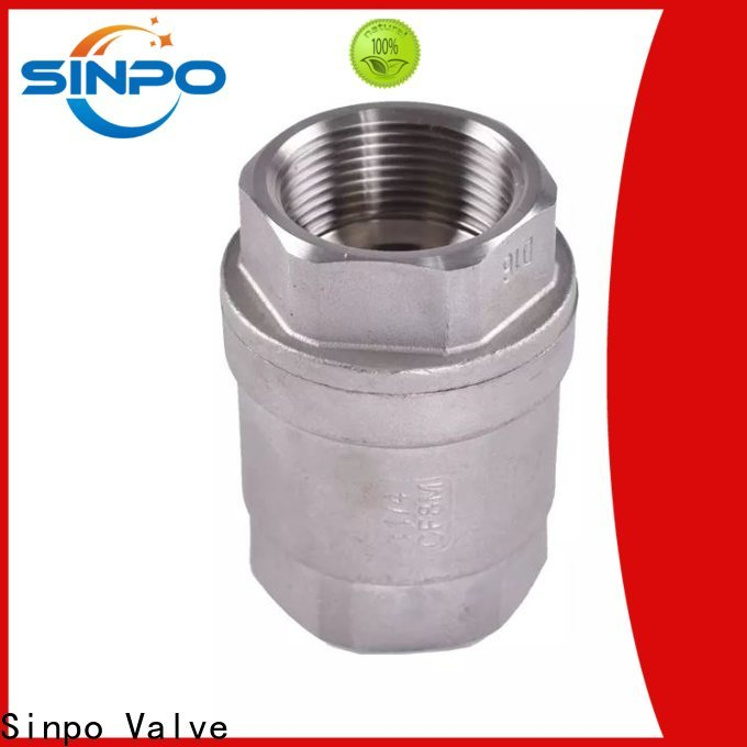 Sinpo Valve cf8m check valve suppliers for industrial