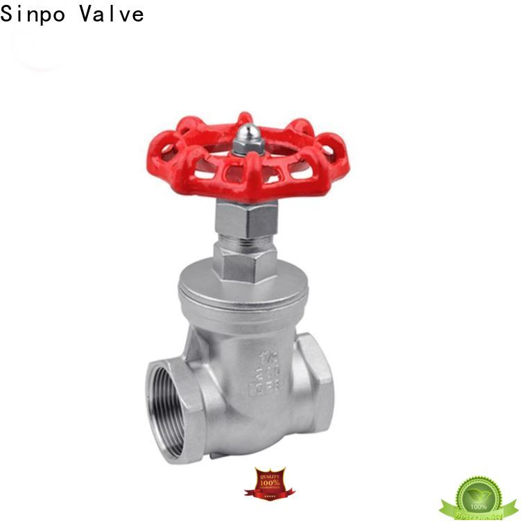 Sinpo Valve gate valve open or closed manufacturers for industrial