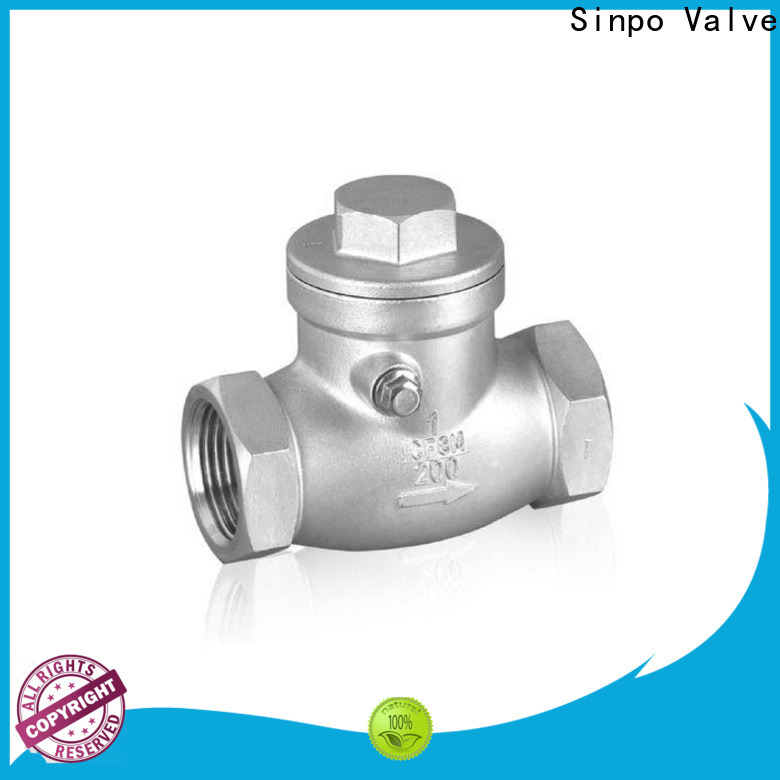 Sinpo Valve top types of check valves manufacturers for factory