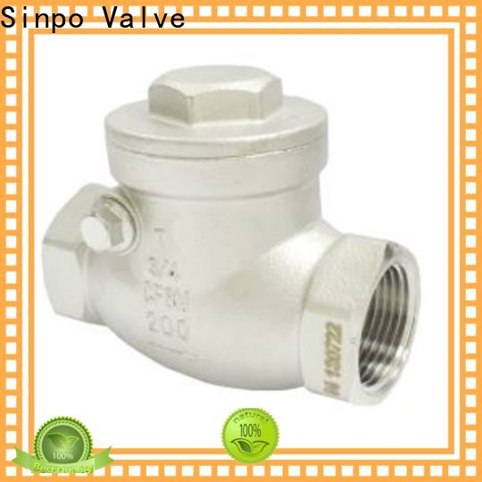 new horizontal swing check valve company for industrial