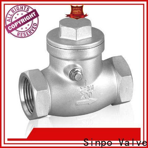 Sinpo Valve center line check valve manufacturers for home use