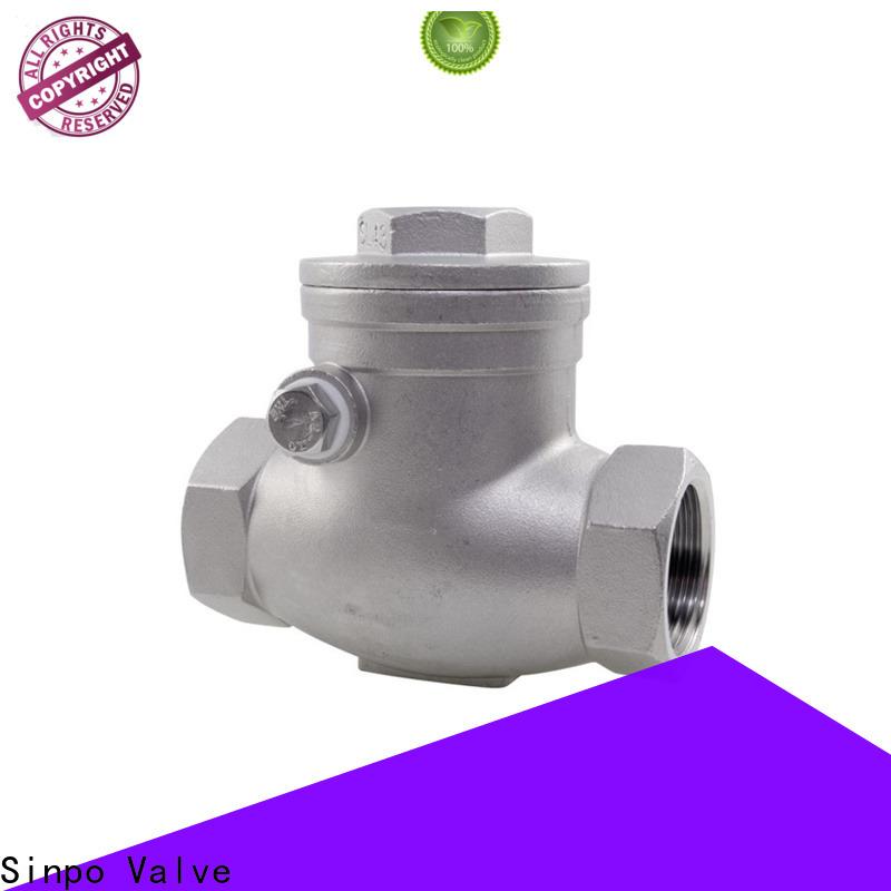 Sinpo Valve center line check valve factory for home use