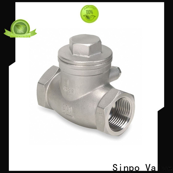 new aluminum check valves factory for home use