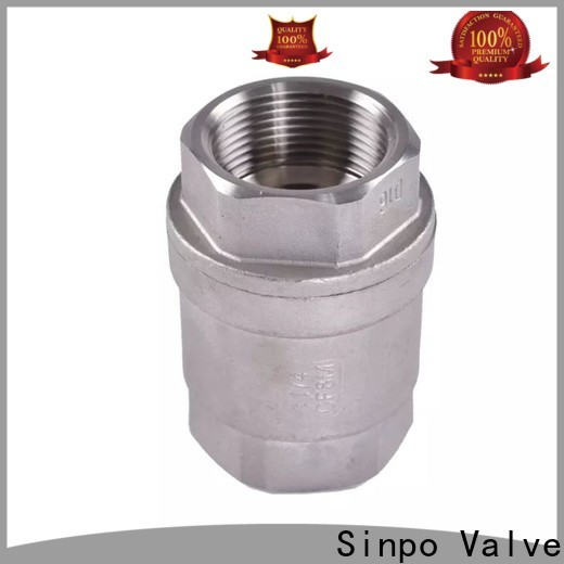 Sinpo Valve check valve low pressure company for factory