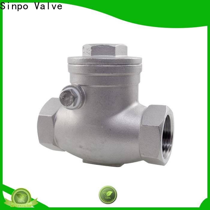 Sinpo Valve oil check valves factory for factory