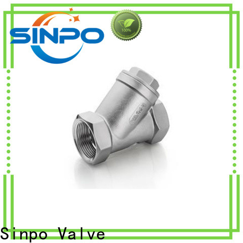 Sinpo Valve Y type strainer price suppliers for factory