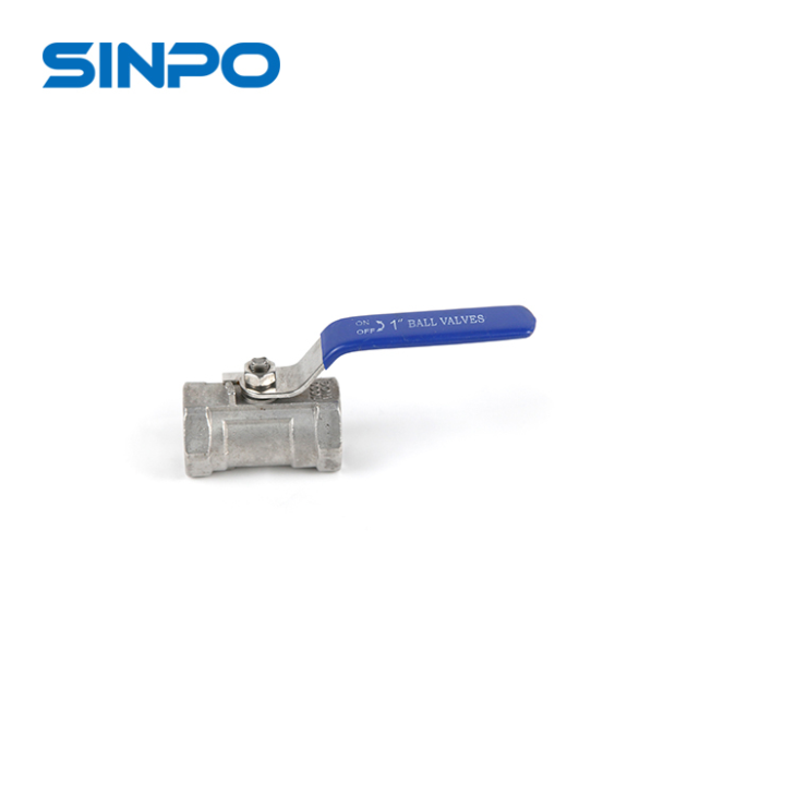 High Performance Industrial Grade Stainless Steel Design Manual 1pc Ball Valve