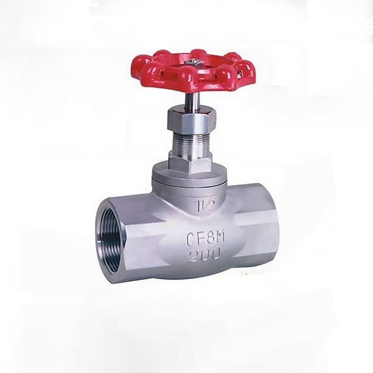 Industrial Manual Standard Soft Seal Gas Stainless Steel Globe Valve