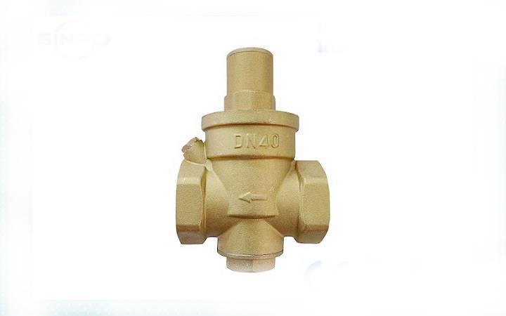 Brass Water Pressure Reducing Valve PN16