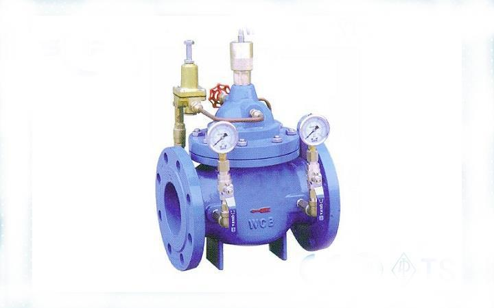 Cast Iron WCB 400X Flanged Water Flow Control Valve PN10 PN16 PN25