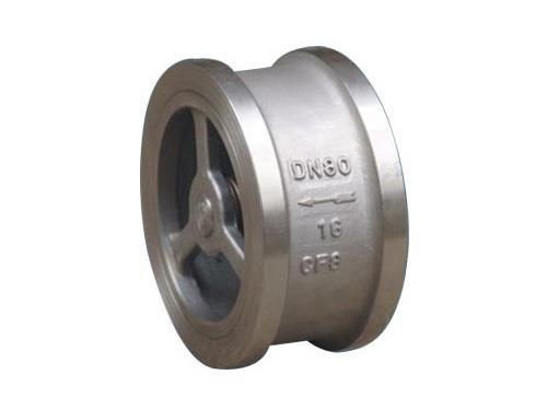 Stainless Steel 316 Non Return 1-1/4 Inch Check Valve Wafer Type Female Thread